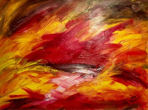 Raphael Walenta, O/T, Abstraktes, Gefühle, Avantgarde