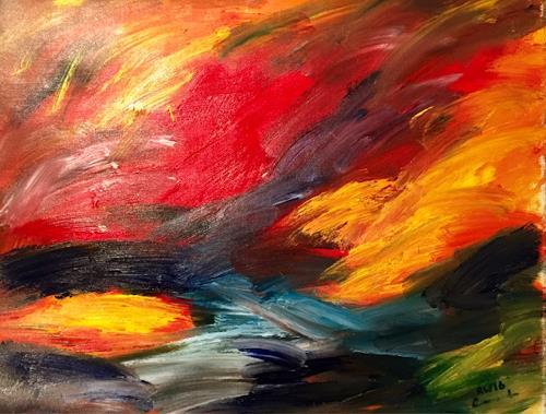 Raphael Walenta, O/T, Natur, Diverse Gefühle, Gegenwartskunst
