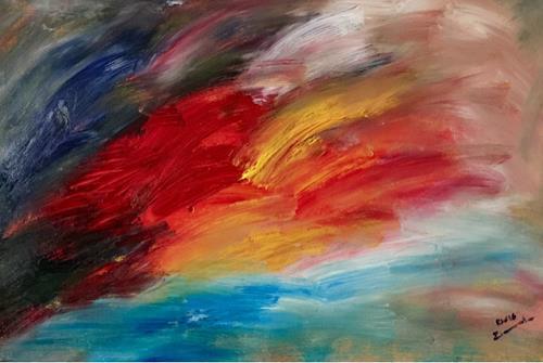 Raphael Walenta, O/T, Landschaft, Gefühle, Gegenwartskunst