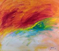 Raphael-Walenta-Abstraktes-Landschaft-Fruehling-Moderne-Abstrakte-Kunst-Action-Painting