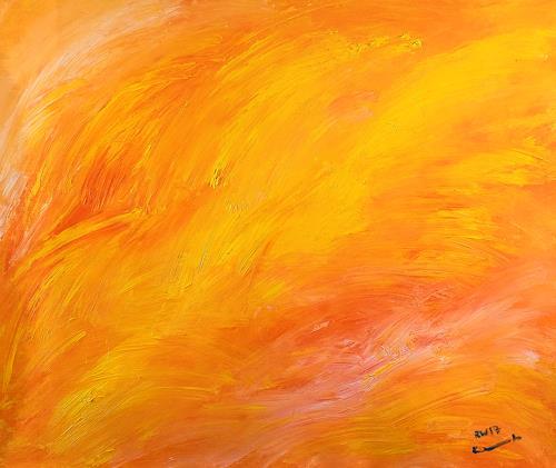 Raphael Walenta, Ohne Titel, Abstraktes, Landschaft: Strand, Action Painting