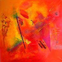 Hubert-Koenig-Abstraktes-Bewegung-Moderne-Abstrakte-Kunst