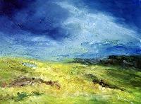 Uwe-Zimmer-Landschaft-Fruehling-Gefuehle-Freude-Moderne-Impressionismus-Neo-Impressionismus