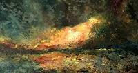 Uwe-Zimmer-Landschaft-See-Meer-Landschaft-Sommer-Moderne-Impressionismus-Neo-Impressionismus