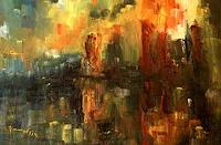 Uwe-Zimmer-Wohnen-Stadt-Industrie-Moderne-Expressionismus-Abstrakter-Expressionismus