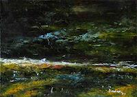 Uwe-Zimmer-Landschaft-See-Meer-Natur-Wasser-Moderne-Impressionismus-Neo-Impressionismus