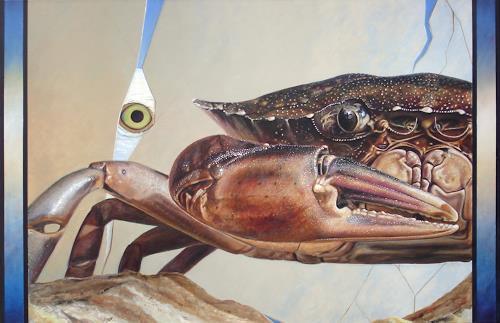 Heino Karschewski, Im Auge des Betrachters 1, Tiere: Wasser, Fantasie, Gegenwartskunst