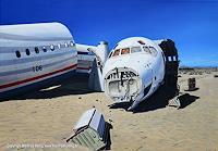 Manfred-Hoenig-Landschaft-Ebene-Verkehr-Flugzeug-Neuzeit-Realismus