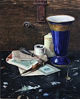 Manfred-Hoenig-Stilleben-Dekoratives-Moderne-Fotorealismus-Hyperrealismus