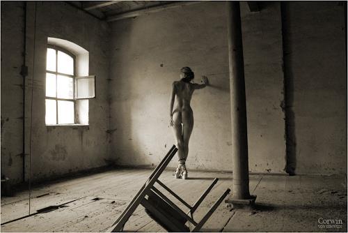 Frau Nackt Akt in Sepia Foto IX FOTO 10 x 15 cm EUR