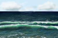 Sandra-Robertz-Natur-Wasser-Landschaft-See-Meer-Moderne-Konzeptkunst