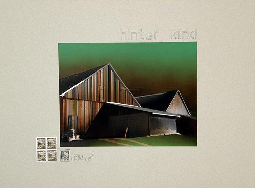 Gerhard W. Schmidbauer, Hinter-Land, Architektur, Arbeitswelt, Fotorealismus, Abstrakter Expressionismus