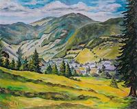 Willi-Ruf-Landschaft-Sommer-Moderne-Impressionismus