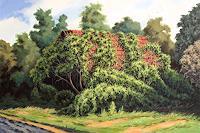 Joachim-Lilie-Landschaft-Sommer-Diverse-Pflanzen-Neuzeit-Realismus