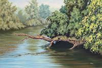Joachim-Lilie-Landschaft-Sommer-Pflanzen-Baeume-Neuzeit-Realismus