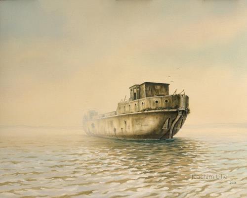Joachim Lilie, Das Betonschiff, Industrie, Geschichte, Gegenwartskunst, Expressionismus