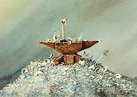 Joachim-Lilie-Fantasie-Stilleben-Gegenwartskunst-Postsurrealismus