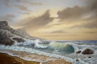 Joachim-Lilie-Natur-Wasser-Landschaft-See-Meer-Neuzeit-Realismus