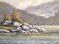 Joachim-Lilie-Landschaft-Natur-Neuzeit-Realismus
