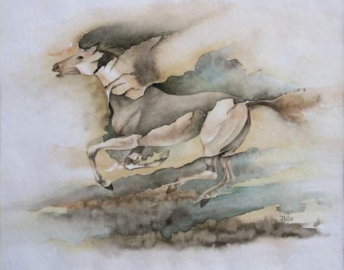 Joachim Lilie, Galopp, Fantasie, Gegenwartskunst