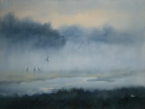 Joachim Lilie, Morgenstimmung, Diverse Landschaften, Naturalismus