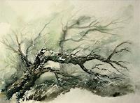Joachim-Lilie-Natur-Wald-Moderne-Konkrete-Kunst