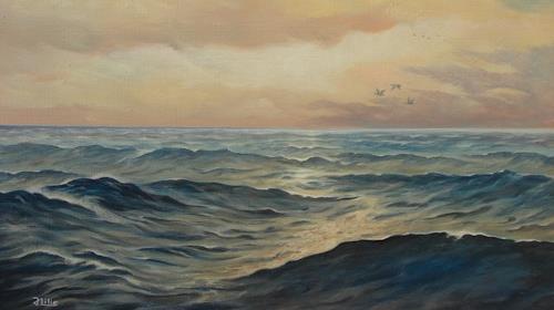 Joachim Lilie, Meeresstimmung, Landschaft: See/Meer