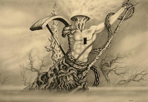 Joachim Lilie, Ausgebrannt, Fantasie, Realismus, Abstrakter Expressionismus