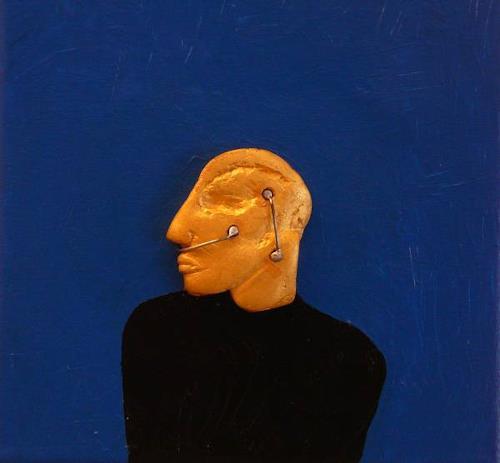 gerd Rautert, O/T, Menschen: Porträt, Expressionismus, Abstrakter Expressionismus