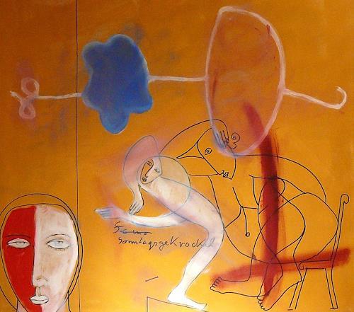 gerd Rautert, heute ists mir einerlei.:-), Freizeit, Expressionismus, Abstrakter Expressionismus