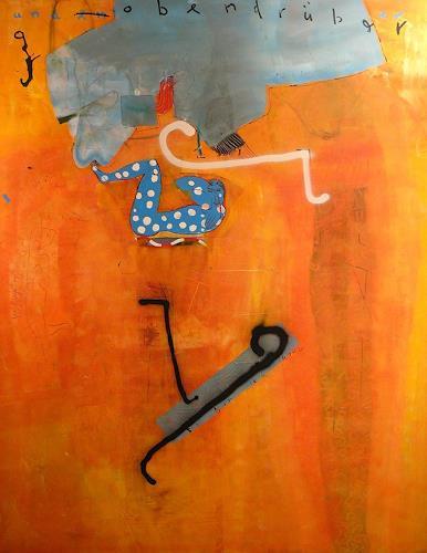 gerd Rautert, adams kostüm, Gefühle: Geborgenheit, Expressionismus, Abstrakter Expressionismus