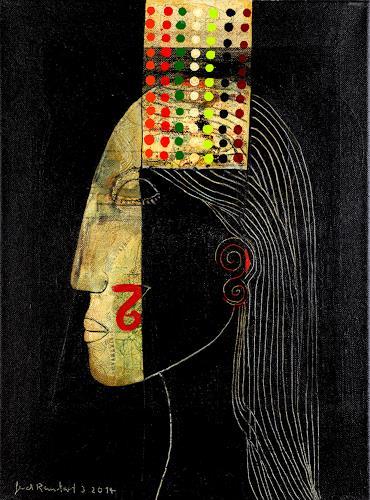 gerd Rautert, a brain-friendly information., Menschen: Frau, Expressionismus, Abstrakter Expressionismus