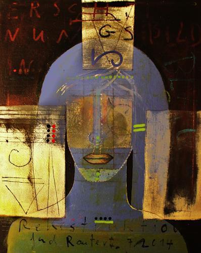 gerd Rautert, rekonstruktion einer begegnung, Menschen: Frau, Expressionismus