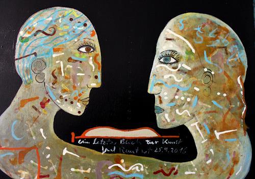 gerd Rautert, ein letzter Blick zur Kunst, Arbeitswelt, Expressionismus