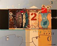 gerd-Rautert-Diverse-Gefuehle-Moderne-Expressionismus-Neo-Expressionismus