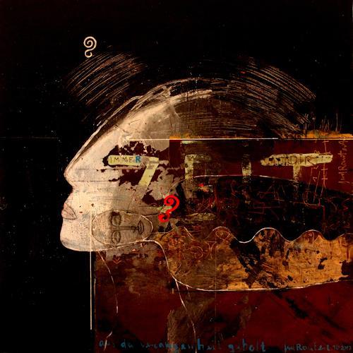 gerd Rautert, übermalte zeit befreit, Diverse Gefühle, Neo-Expressionismus, Abstrakter Expressionismus