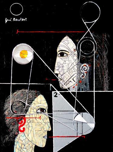 gerd Rautert, o.t, Situationen, Neo-Expressionismus, Abstrakter Expressionismus