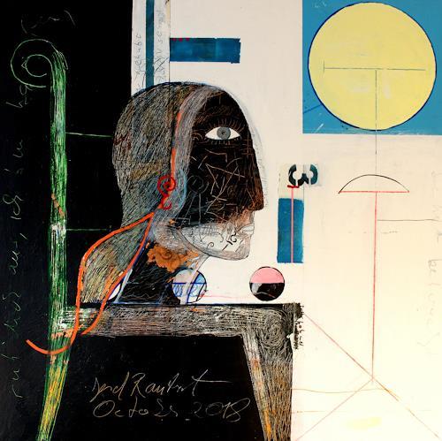 gerd Rautert, o.t., Gefühle: Liebe, Expressionismus, Abstrakter Expressionismus