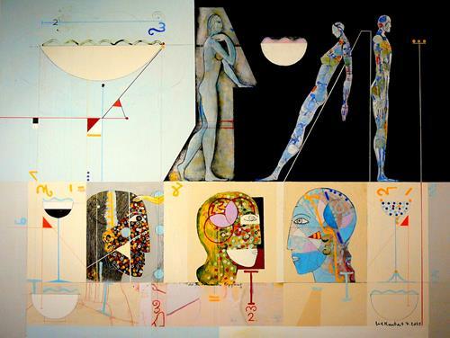gerd Rautert, kunstsein, Situationen, Expressionismus, Abstrakter Expressionismus