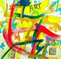 Werner-Reiter-Abstraktes-Moderne-Abstrakte-Kunst