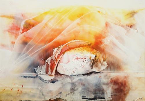 Ingeborg Chr. Berger, shelter, Gefühle: Geborgenheit, Landschaft: Ebene, Gegenwartskunst
