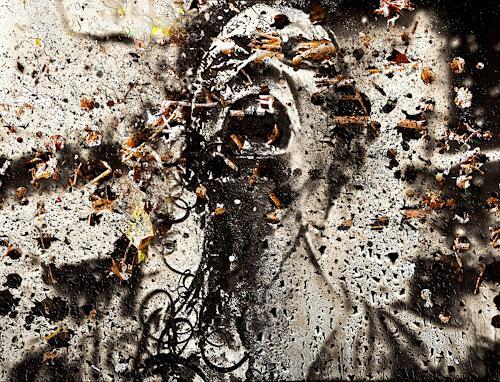 LIMITaRT-JE.Fall, Formen der totalen Wahrscheinlichkeit., Gefühle: Aggression, Arbeitswelt, Neo-Expressionismus, Abstrakter Expressionismus