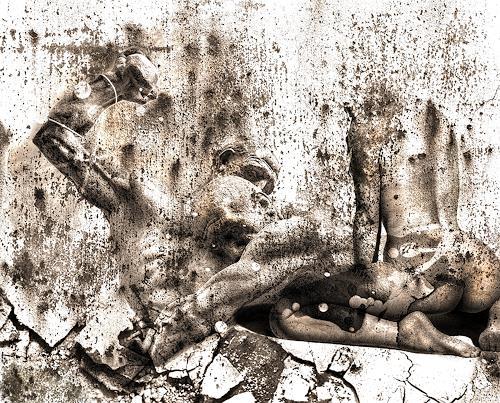 LIMITaRT-JE.Fall, Feinsinnig., Gefühle: Angst, Gesellschaft, expressiver Realismus, Abstrakter Expressionismus