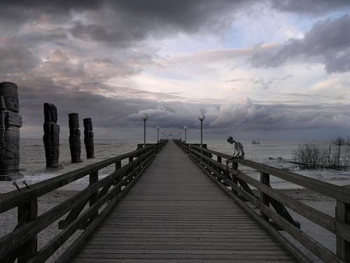 LIMITaRT-JE.Fall, Richtung Berlin, Gefühle: Trauer, Gesellschaft, Surrealismus, Abstrakter Expressionismus