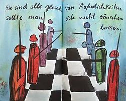 Kunst von Elke Rehder