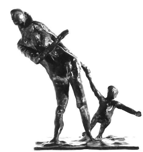 Elke Rehder, Mutter und Kind, Menschen: Familie, Gesellschaft, Gegenwartskunst, Abstrakter Expressionismus