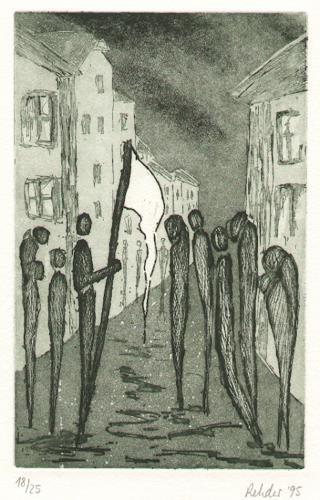 Elke Rehder, Im düstern Auge keine Träne - Weberlied von Heinrich Heine, Gesellschaft, Arbeitswelt