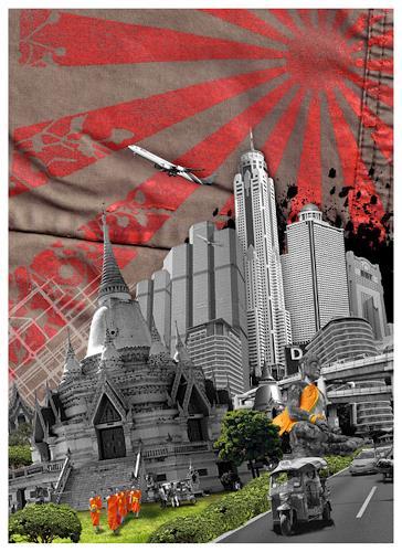 siak, Bangkok, Architektur, Wohnen: Stadt, Moderne