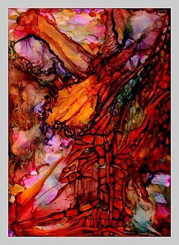WERWIN, Maiden Beast, Abstraktes, Abstraktes, Abstrakte Kunst