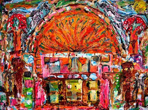 WERWIN, Fanny House, Abstraktes, Abstraktes, Abstrakte Kunst